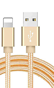 молния USB-кабель адаптера плетеный кабель для Iphone 100 см для нейлона