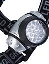 4-Mode lampe frontale en plastique avec 19-LED (3xAAA)