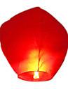 التقليدية كونغ مينغ فانوس ضوء السماء الراغبة (لون عشوائي)