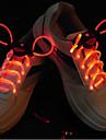플래시 스틱 붉은 빛 방수 LED 신발 끈 (1 쌍)을 성장