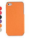 lichi modèle étui en cuir PU pour iPhone 4 et 4s (couleurs assorties)