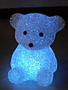 Mini Bear Style Crystal Night Light (Random Color)