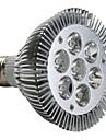 7W E26/E27 LED Spotlight PAR30 7 High Power LED 600-700lm Warm White 3000K AC 220-240V 1pc