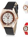 여성의 PU 아날로그 석영 손목 시계 (여러 색)