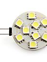 G4 2.5 W 9 SMD 5050 100 LM Natural White Spot Lights DC 12 V
