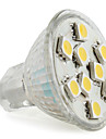 GU4(MR11) 2 W 9 SMD 5050 120 LM Warm White MR11 Spot Lights DC 12 V