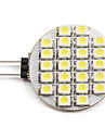 2W 6000 lm G4 LED Spotlight 24 leds SMD 3528 Natural White DC 12V