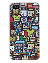 Case Dura para iPhone 4 e 4S - Cartoon (Multi-Cores)