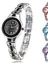 Женские Модные часы Часы-браслет Кварцевый сплав Группа Серебристый металл
