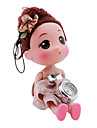 Children's Dolls Style Alloy Analog Quartz Keychain Watch (Brown) Cool Watches Unique Watches