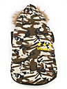 US Army Warm Hoodie Coat for Dogs (XS-XL)