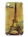 Eiffel Tower Pattern Hard Case for iPhone 3G and 3GS