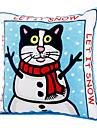 Snow Cat Style Catnip Toy for Cat