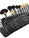 32pcs Makeup Brush Set Horse Pony Synthetic Hair Goat Hair Eye Face Lip