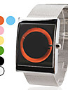 Unisex Steel Analog Quartz Wrist Watch (Assorted Colors)