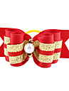Hair Accessories for Dogs / Cats Red Spring/Fall Terylene