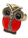 Bague en alliage Owl