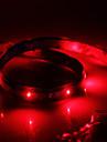 Imperméable 60cm 24-LED rouge de bande de LED (12V)