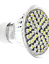 4W 6000lm GU10 LED Spotlight MR16 60 LED Beads SMD 3528 Natural White 220-240V