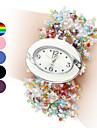 Women's Colorful Style Plastic Analog Quartz Bracelet Watch (Assorted Colors) Cool Watches Unique Watches