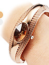 Women\'s Quartz Bracelet Watch Casual Watch Alloy Band Casual Elegant Fashion Bangle Silver Bronze