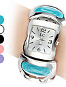 Women's Casual Style Bracelet Plastic Analog Quartz Watch (Assorted Colors)