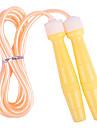 Punho plástico PVC Pulando corda multi-color (cor aleatória, 3M)