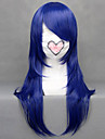 Perruques de Cosplay Cosplay Kotamo Ichinose Bleu Moyen Anime/Jeux Video Perruques de Cosplay 60 CM Fibre resistante a la chaleur Feminin