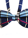 Cat Dog Tie/Bow Tie Dog Clothes Wedding Fashion Plaid/Check Black Blue Costume For Pets