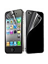 12X Clear Front and Back Screen Protector for iPhone 4/4S iPhone 4s / 4 Screen Protectors
