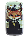 Fox Pattern Protective Soft TPU Case for Samsung Galaxy S3 I9300
