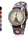 Women's Eiffel Tower Style Analog Quartz Leather Wrist Watch (Assorted Colors) Cool Watches Unique Watches