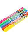 5 Pack Πολύχρωμο Highlighter (κίτρινο, κόκκινο, πορτοκαλί, πράσινο, μπλε)