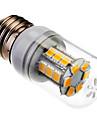 SENCART 1000lm E26 / E27 LED лампы типа Корн 24 Светодиодные бусины SMD 5060 Тёплый белый 85-265V