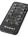 Wireless IR Remote Control for Sony/Canon/Nikon/Olympus/Pentax (1xCR2025)