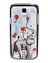 Elephant and Ladder Pattern Hard Case for Samsung Galaxy S4 mini I9190