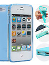 Case For iPhone 4/4S / Apple Back Cover Soft TPU for iPhone 4s / 4
