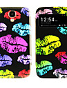 Lip Print Pattern with Window Case for Samsung S4 I9500