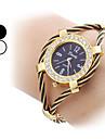 Steel mode analogique bracelet montre femme quartz (couleurs assorties)