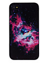 Fabuloso Nebula decaled PC Hard Case para iPhone 4/4S