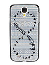 Number Eight Pattern Hard Case for Samsung Galaxy S4 I9500