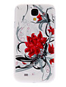 For Samsung Galaxy Case Pattern Case Back Cover Case Flower PC Samsung S4