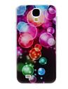 Coloré cas dur de modèle de bulle pour Samsung Galaxy i9500 S4