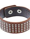 Z&X®  Multi-Rivet Leather Bracelet