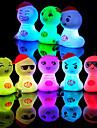 Novely dos desenhos animados LED Table Lamp Light (cor aleatória)