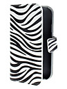 Pour Samsung Galaxy Coque Portefeuille / Porte Carte / Avec Support / Clapet / Motif / Magnétique Coque Coque Intégrale CoqueLignes /