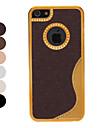 linha de luxo de ouro cromo s caso capa dura com película de protecção interior para 5/5s (cores opcionais) iphone