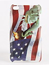 Hard Case for iTouch 4 with The Pattern US Flag Pattern & Statue of Liberty