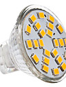 GU4(MR11) LED Spotlight MR11 24 SMD 2835 230lm Warm White 2700K DC 12 AC 12V