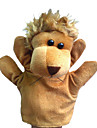 1PCS marionnettes de main Beige Lion